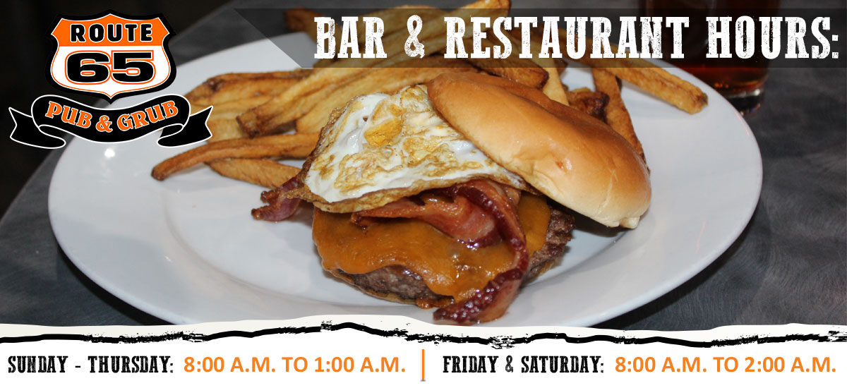 Route 65 Pub Grub Restaurant East Bethel Bars