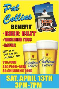Pat Collins Benefit