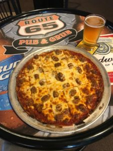 Half-priced pizzas @ Route 65 Pub & Grub