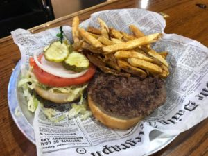 $5 burger baskets @ Route 65 Pub & Grub