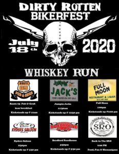 Dirty Rotten Bikerfest Whiskey Run